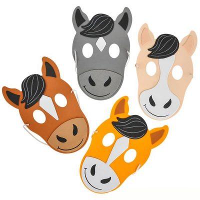 Foam Horse Head Mask