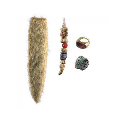 Costume Pirates of the Caribbean Jack Sparrow Accessories Kit