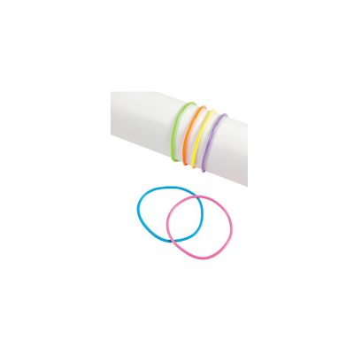 Party Neon Soft Rubber Bracelets