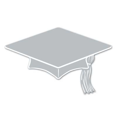 Mini Grad Cap Cutouts