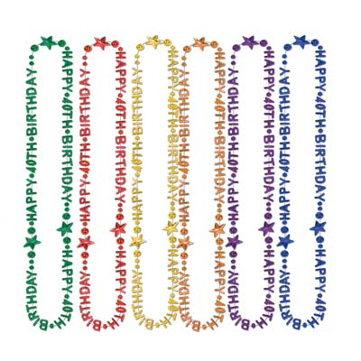 Birthday Beads of Expression