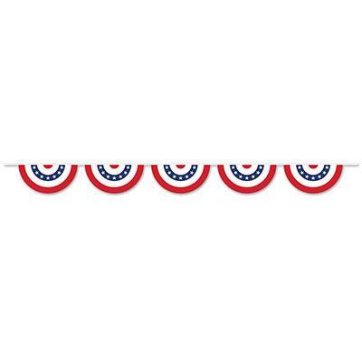 Patriotic Bunting Banner