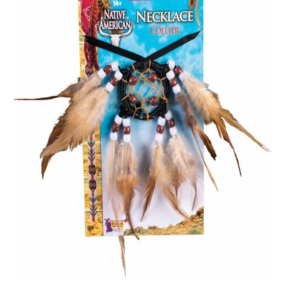 Costume Indian Dream Catcher Necklace