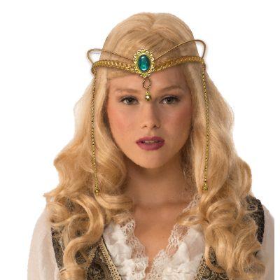 Costume Medieval Metal Fantasy Tiara Headpiece