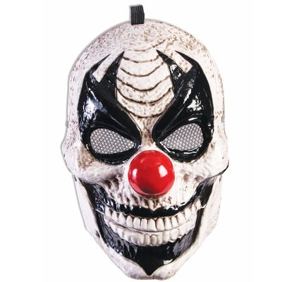 Costume Vacuum Form Plastic Moving Jaw Clown Mask