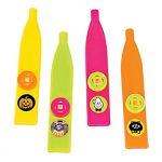 Assorted Plastic Halloween Kazoos