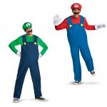 Super Mario Brothers Adult Halloween Costumes