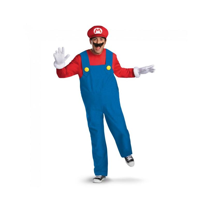 Super Mario Brothers Adult Halloween Costume - Mario