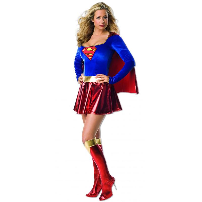 Super Girl Adult Costume