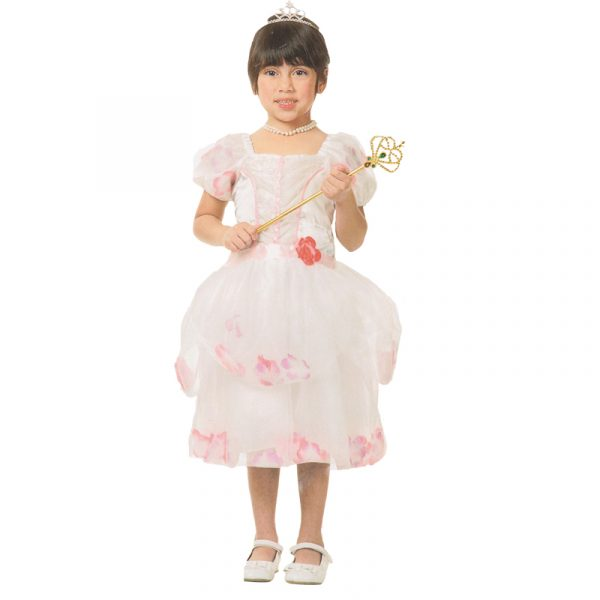 Princess with flowers Child Halloween Costume