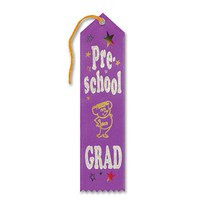 Pre School Grad Award Ribbon