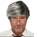 Adult Size Old Man Wig