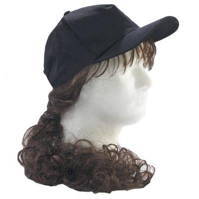 Fabric Billy Bob Ponytail Hat