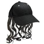 Fabric Billy Ray Hat with Hair