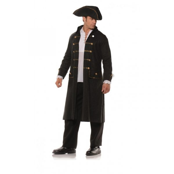 Pirate Coat and Hat Set