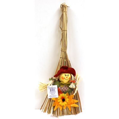 Fall Scarecrow Broom