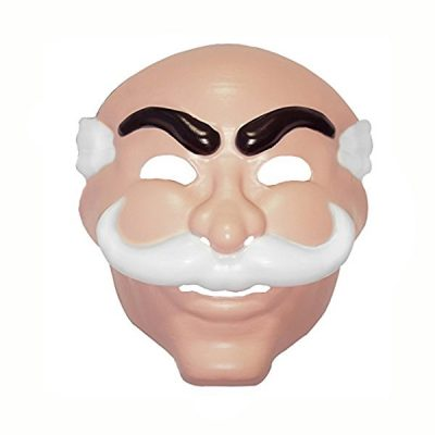 Costume Plastic Mr Robot Mask