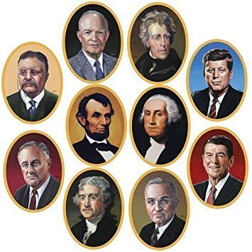 U.S. presidents cutouts