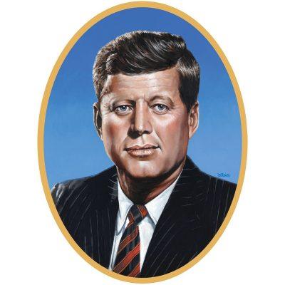 John Kennedy cardboard cutout