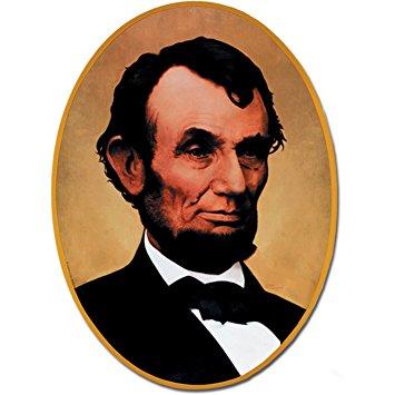 Abraham Lincoln cardboard cutout