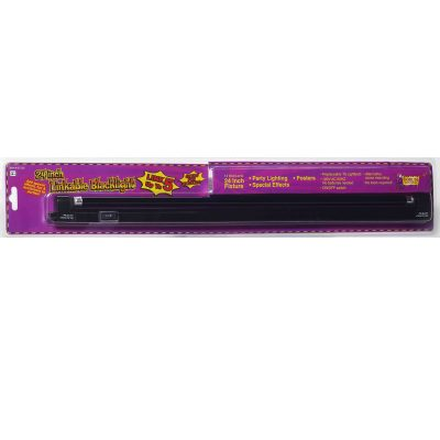 24 Inch Fluorescent Linkable Black Light w Fixture