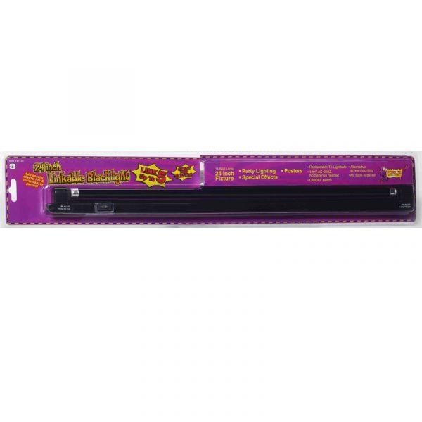 24 Inch Fluorescent Linkable Black Light w Fixture
