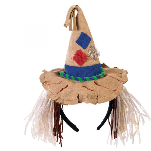 Costume Fabric Scarecrow Hat Headband