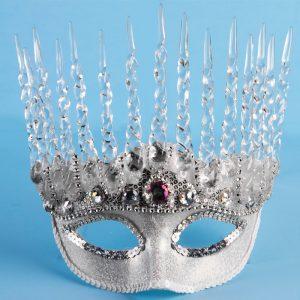 Costume Deluxe Ice Queen Half Mask