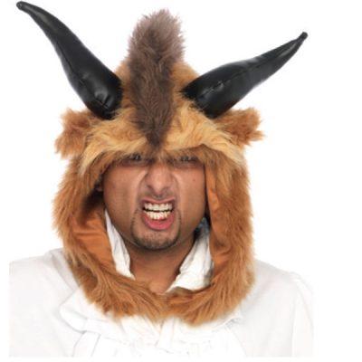 Costume Plush Brutal Beast Hood