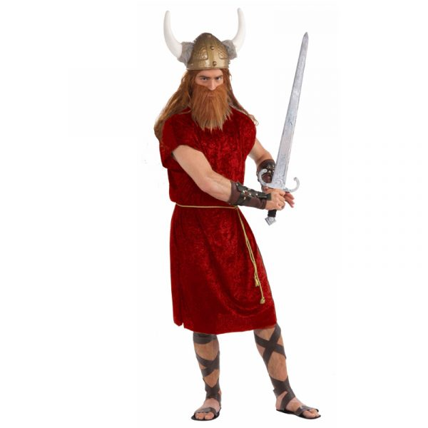 Red Viking Costume or Roman Tunic