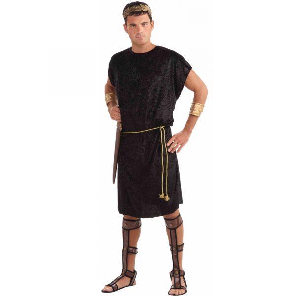 Black Roman Tunic or Viking Costume