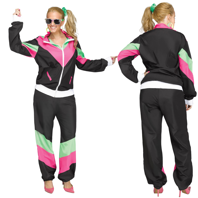 80s Rockin Track Suit Adult Female