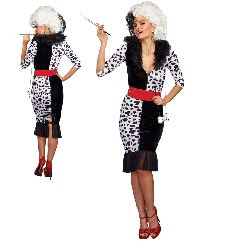 Dalmatian Diva Cruella Costume