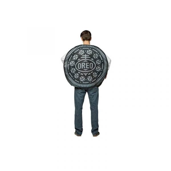 Back of the Oreo Cookie Costume
