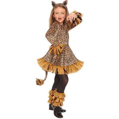 Leopard Girl Child Costume