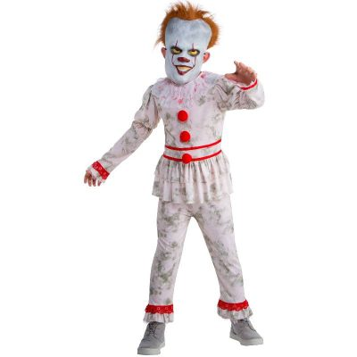 Evil Dancing Clown Child Costume