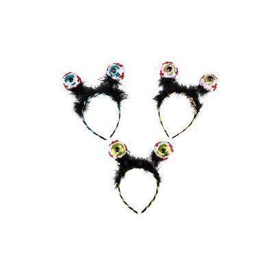 Costume Sequin Eyeballs Headband