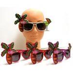 Flamingo Palm Tree Sunglasses