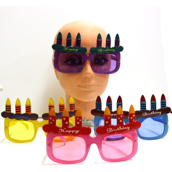 Happy Birthday Sunglasses with Candles