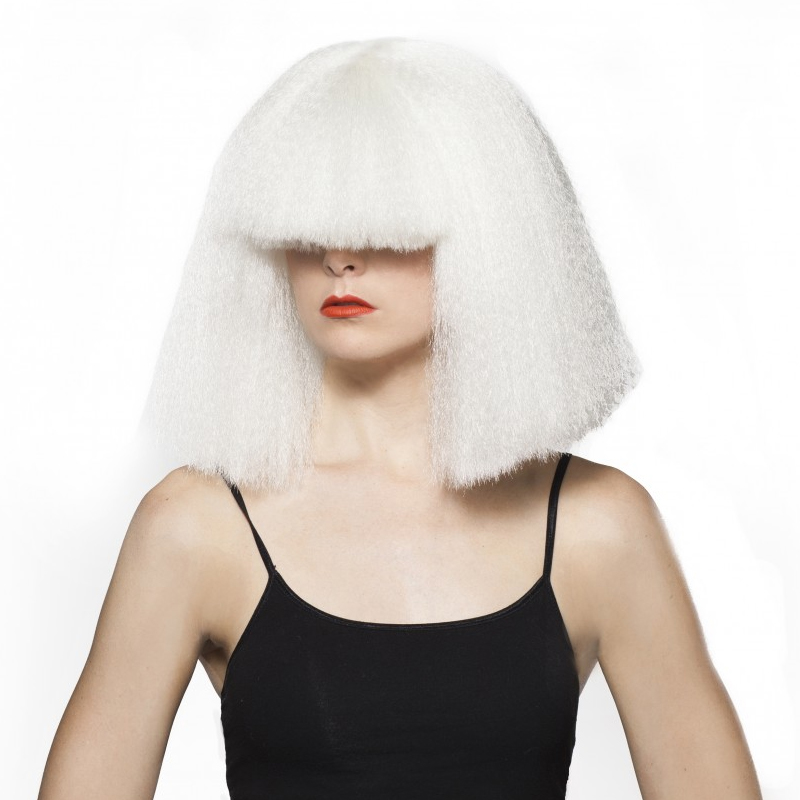 White Chandy Halloween Wig