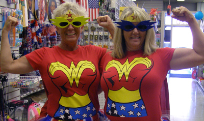 Halloween costumes and party supplies at Cappel's Cincinnati