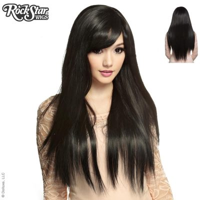Black Bella Long Straight Wig