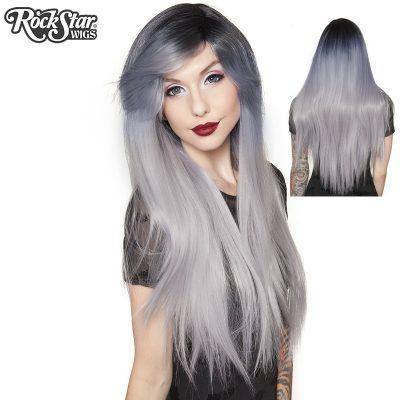 Dark Roots Bella Long Straight Wig