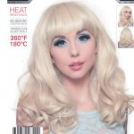 Cosplay Blonde Pin Up Curly Wig