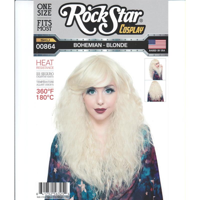 Bohemian Blonde Wig