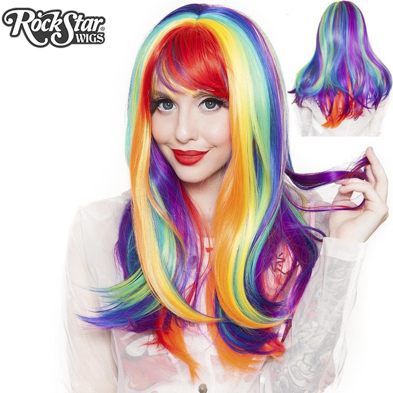 Rainbow Rock Wig Hair Prism 3