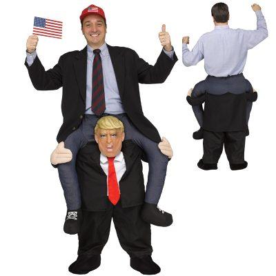 Piggy Back Carry Me Mr President