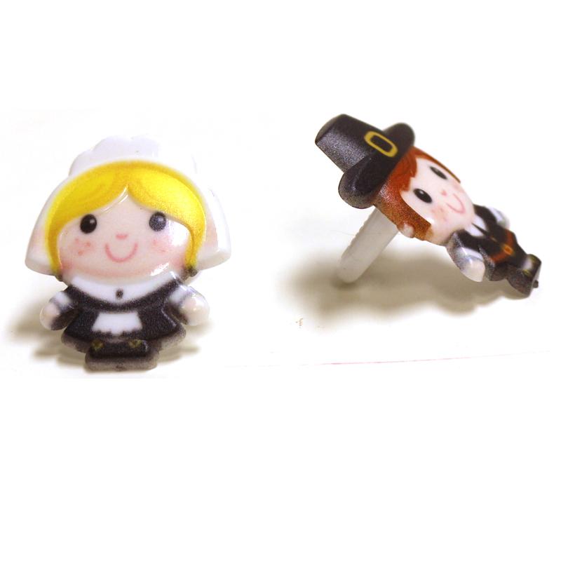 Plastic Pilgrim Rings
