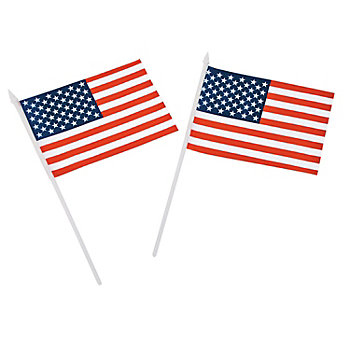 Promo Polyester U.S. Stick Flag
