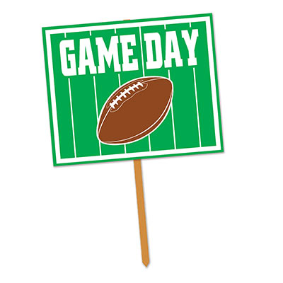 Football Game Day Yard Sign